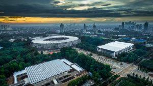 Penataan Kawasan Stadion Gelora Bung Karno Zona 2