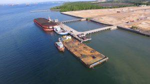 Pelabuhan Penajam Sisi Darat