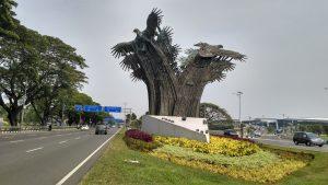 Lansekap Terminal 3 - Bandara Soekarno Hatta