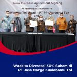 Waskita Divestasi 30% Saham di PT Jasamarga Kualanamu Tol