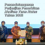 Penandatanganan Perjanjian Penerbitan Medium Term Notes Tahun 2021